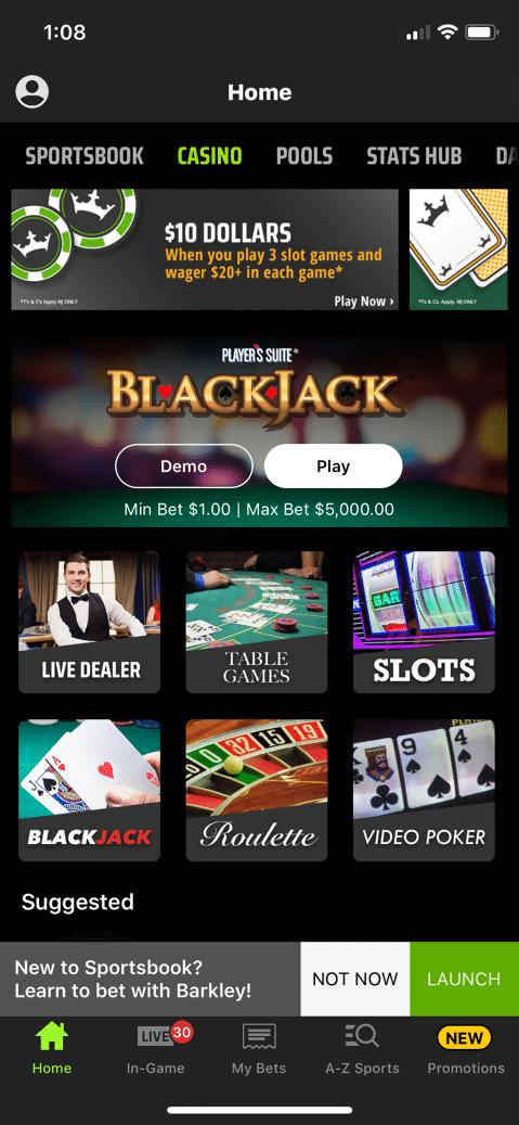 DraftKings Casino 1