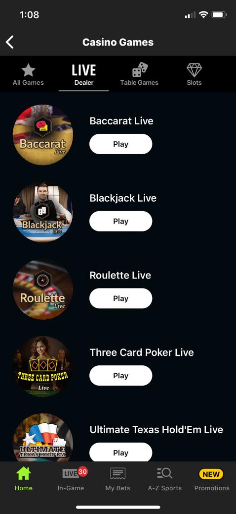 DraftKings Casino 2