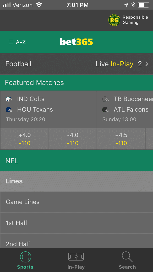 Bet365 mobile 2