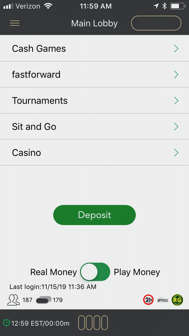 BetMGM Poker mobile 1